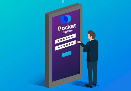 Cómo abrir una cuenta de operaciones en Pocket Option
